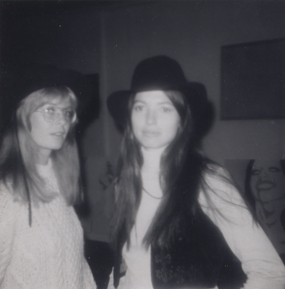 Carla and Gloria Shannon, c. 1970.