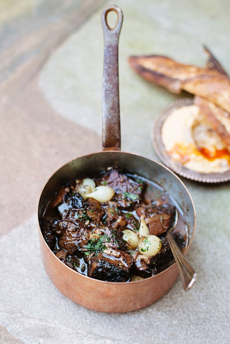 Burnt End Bourguignon | Tara O'Brady