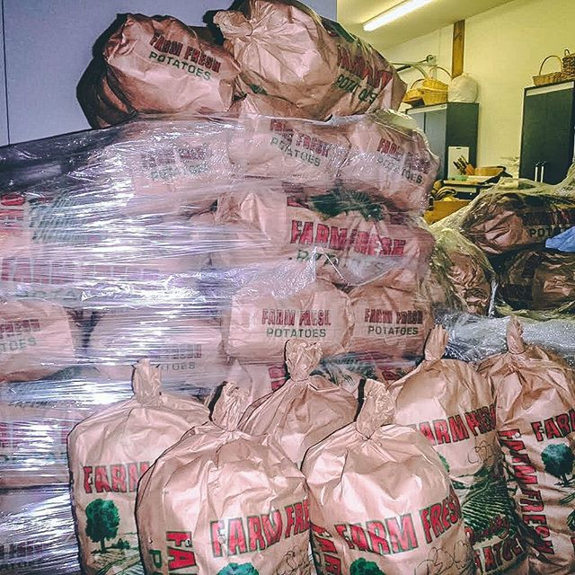 We still have some 50lb bags of potatoes left! Stop by ASAP to pick some up!