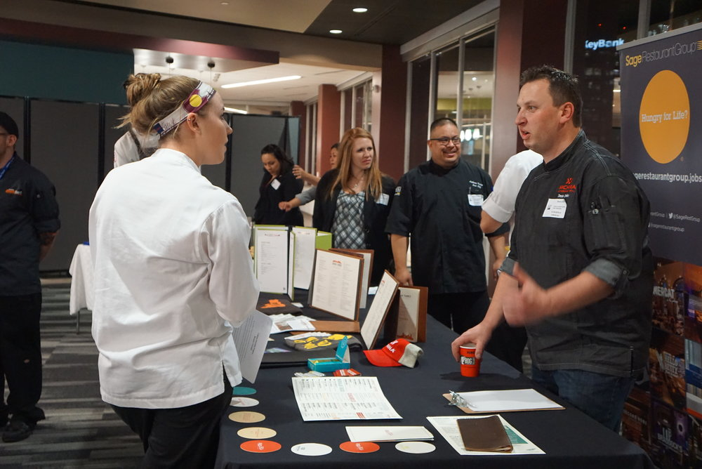 CQS Hiring Fairs benefit both employers and students