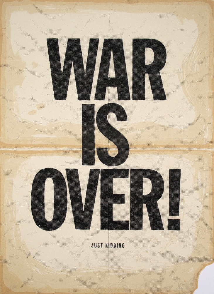 Vincent Valdez, Thanks Anyways, John & Yoko, 2012