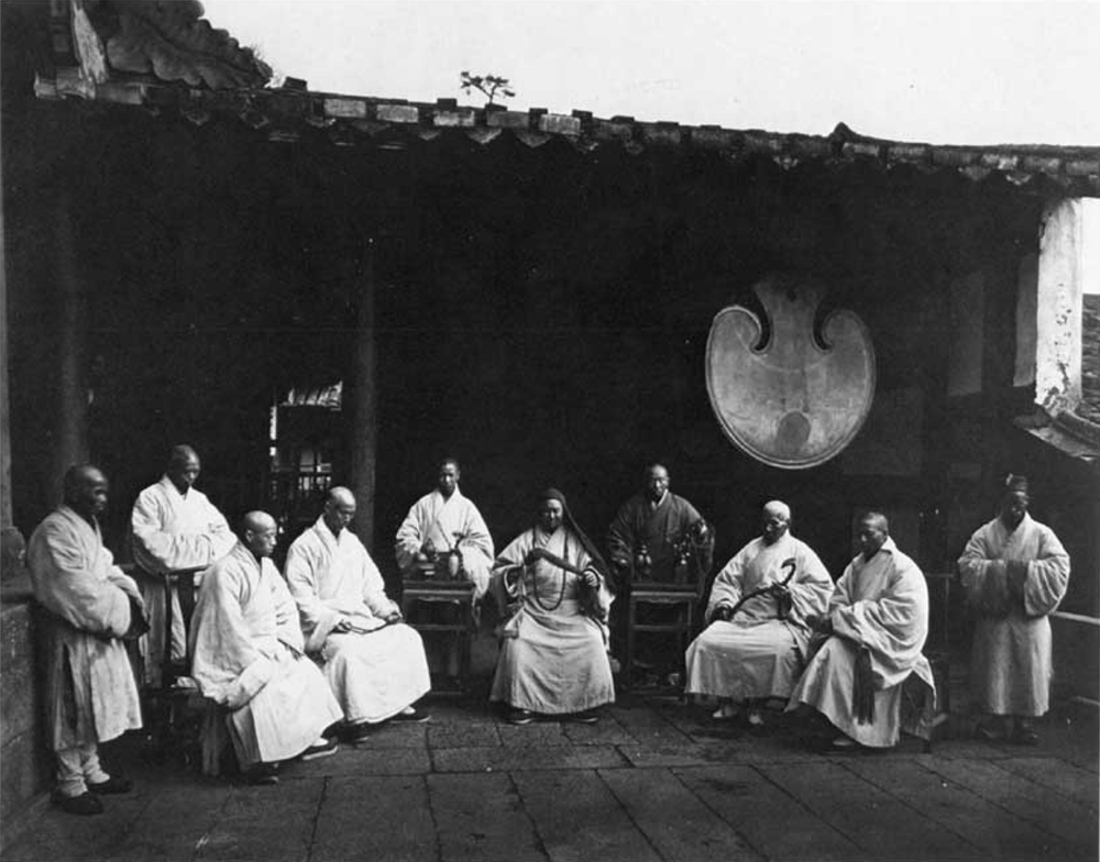 Shaolin monastery. Most likely late 1800's to early 1900's.