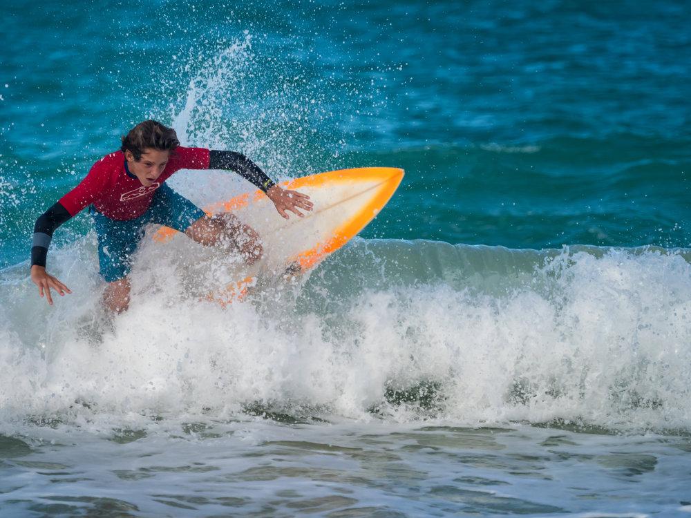 Seth T. Buckley Photojournalism - Kailua Shorebreak Classic - Kid Surf Event Photography in Kailua, Oahu, Hawaii