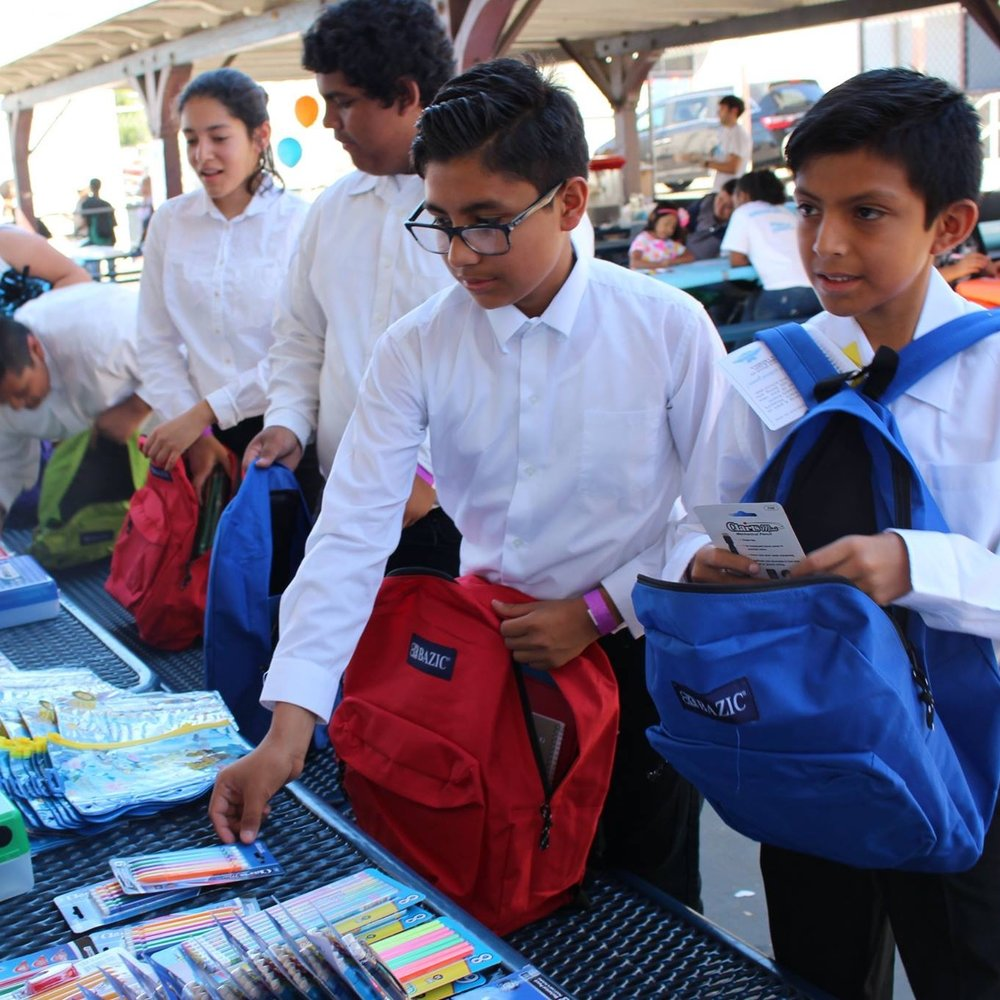back to school supply drive & event 9/24/16 -