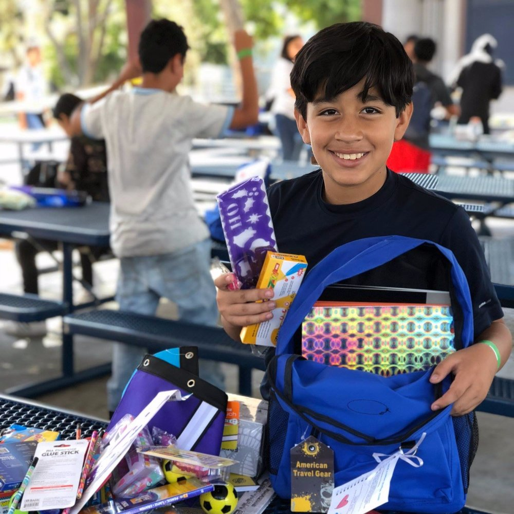 BACK TO SCHOOL SUPPLY DRIVE & EVENT 9/29/18 -