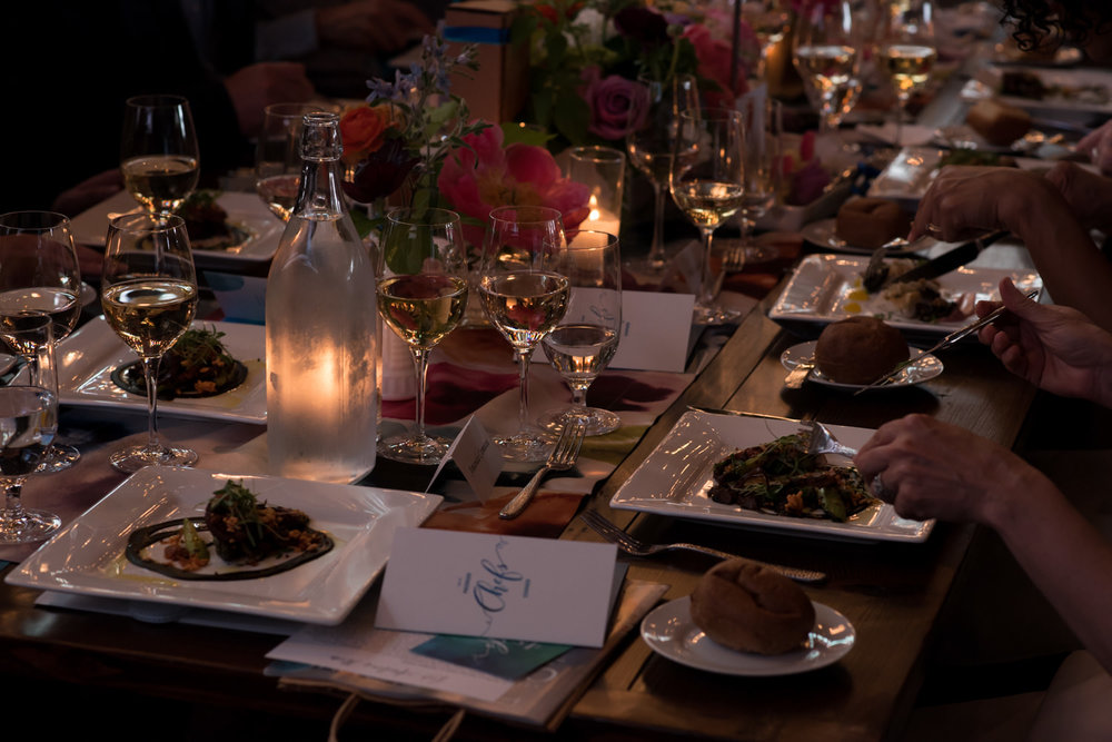 herban feast seattle plated food