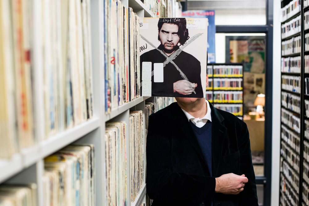 musician lloyd cole in kexp radio library