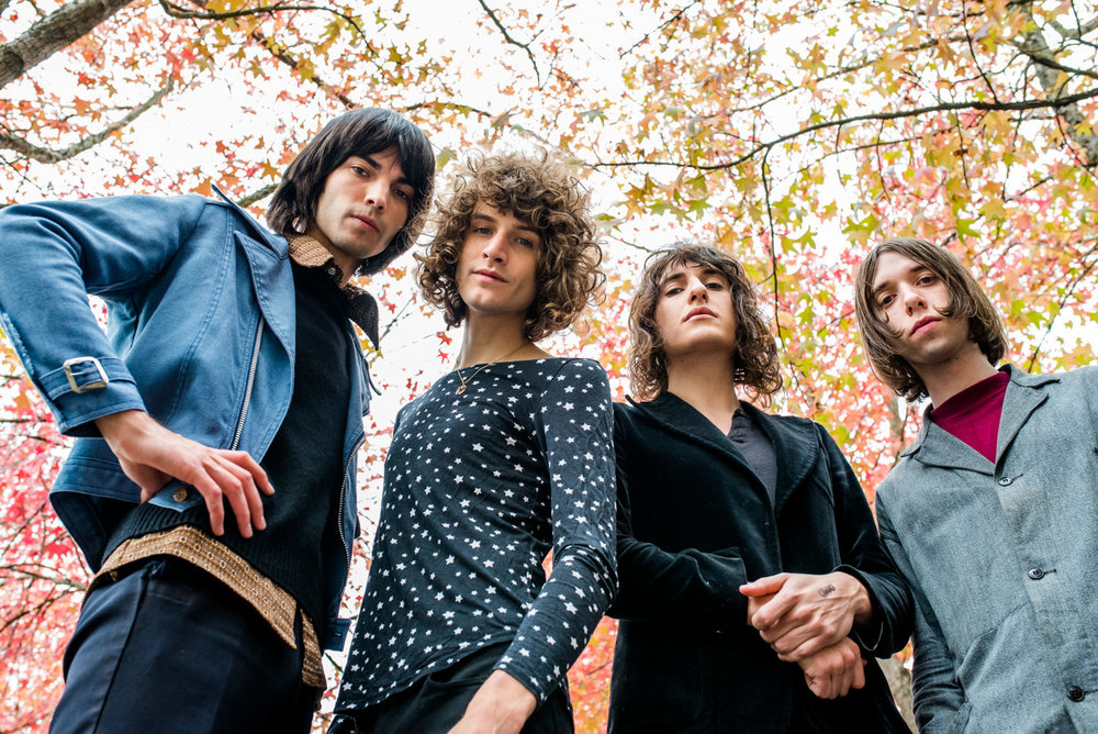 portrait of band temples at kexp
