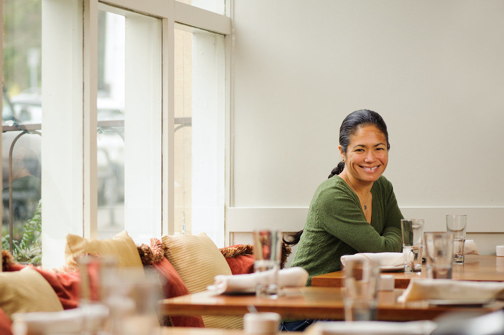 chef and restauranteur maria hines in agrodolce