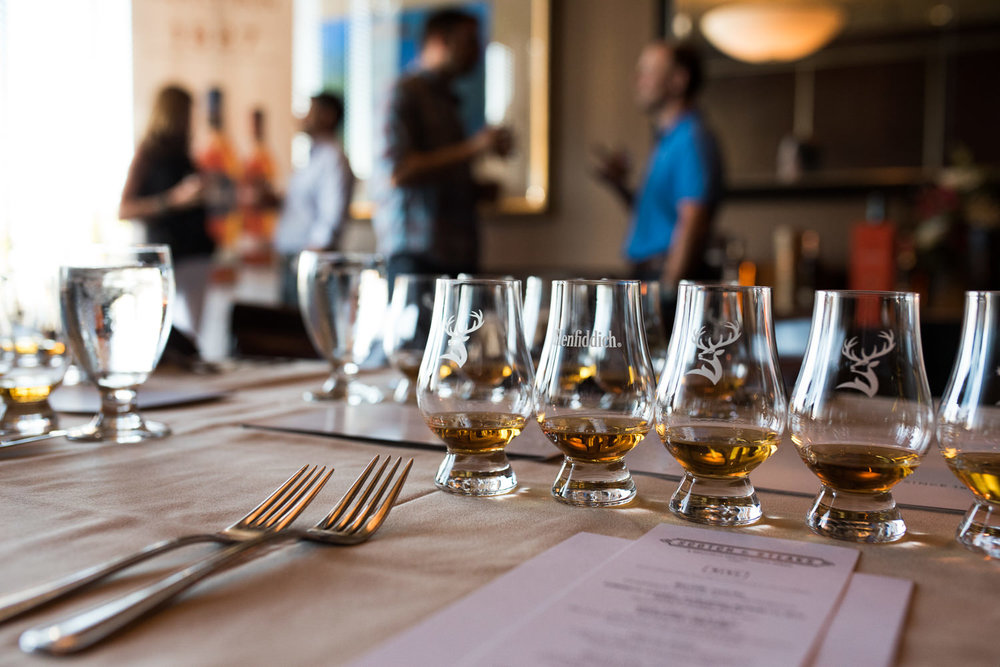 glenfiddich scotch tastings