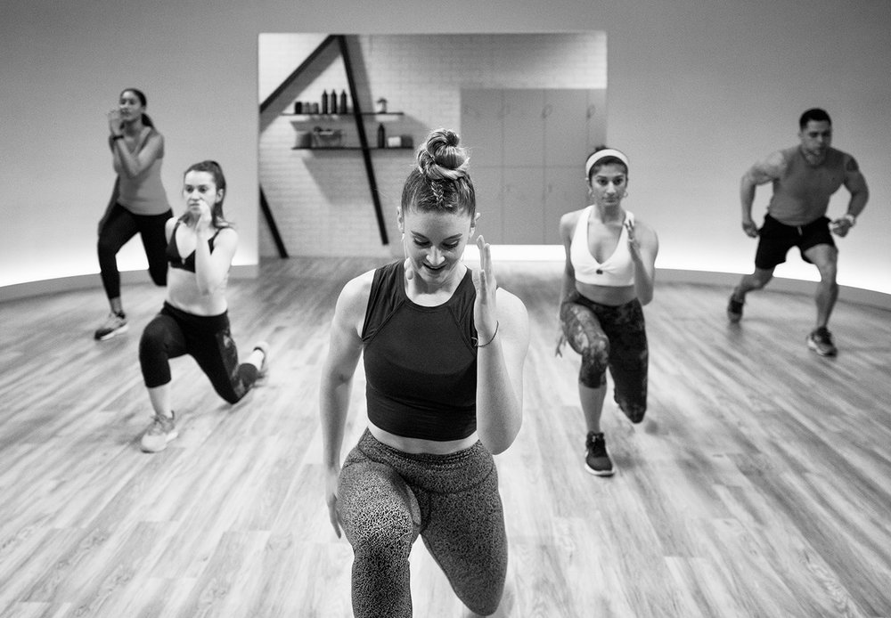 IN A GROUP - Want to get down with your friends, or have a blast working out in a group? Join in on some of our group training classes. Utilize the power and motivation of peers and collective energy.Team Building + Wedding Parties + Pre-vacation