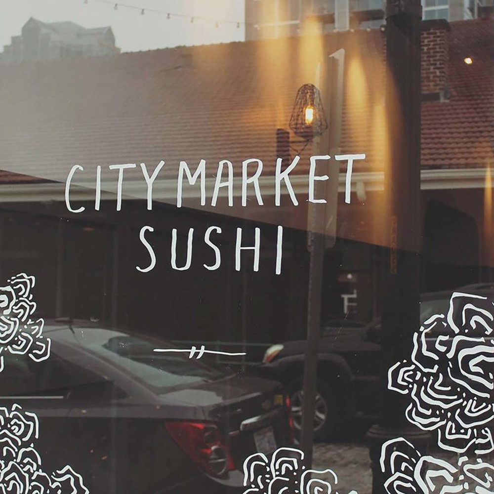 City Market Sushi   Sushi bar serving a blend of contemporary and traditional Japanese cuisine.    View Website