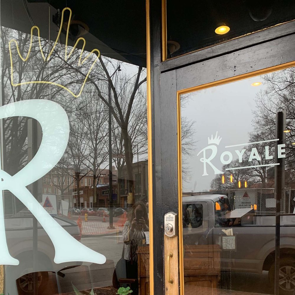 Royale   A French-American bistro.  View Website