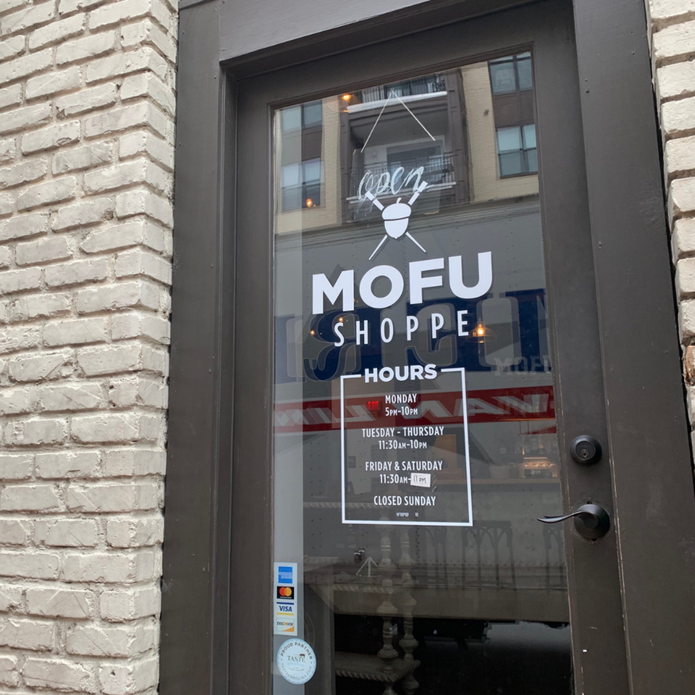 MOFU Shoppe   MOFU Shoppe brings the flavors of Asia to downtown Raleigh, fittingly, in an old car dealership.    View Website