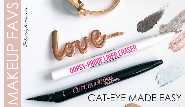 Maybelline Curvitude Liner Review, Hard Candy Oopsy Proof Liner Remover review