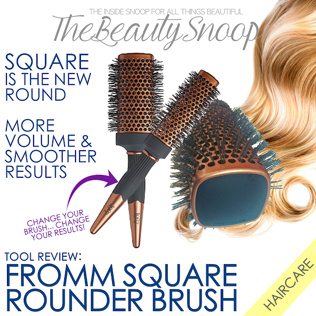 square round brush, Fromm Square Rounder Brush