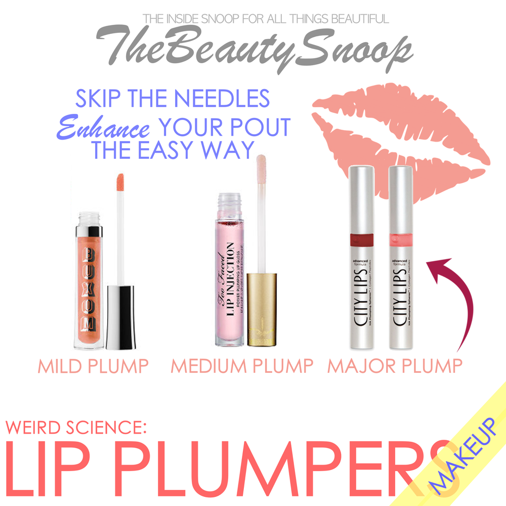 Buxom Lip Cream Review, Too Faced Lip Injection Review, City Lips Lip Plumper Review, Best Lip Plumping Products