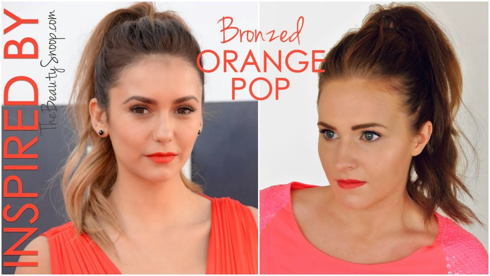 Nina Dobrev, Tutorial, How to add clip in extensions into a pony tail