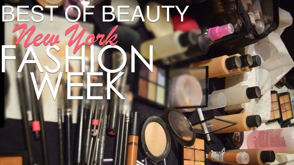 hair, makeup, nails, NYFW, New York Fashion Week Beauty