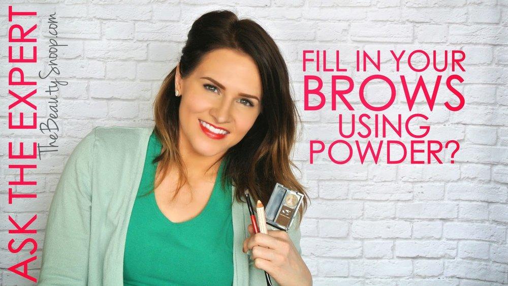 the best brow powder, NYX brow cake powder, Chella Eyebrow Highlight Pencil review