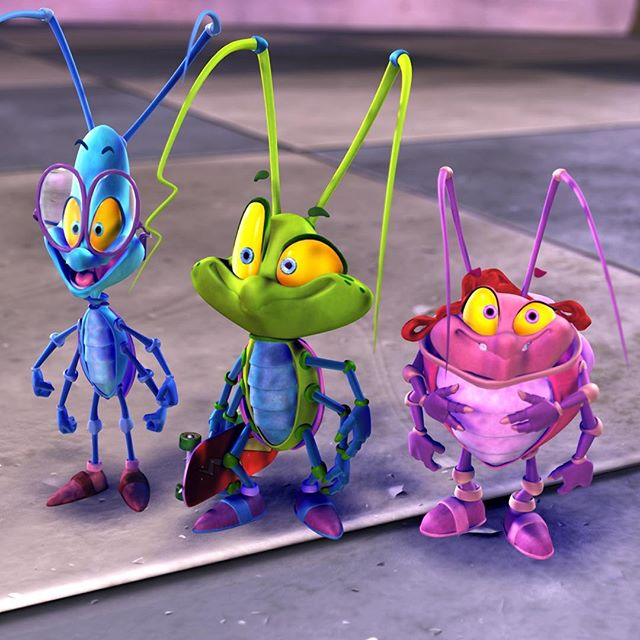 Cosmo, Squiggz, and Flutter!! #bugrangers #bugs #cartoon #funny
