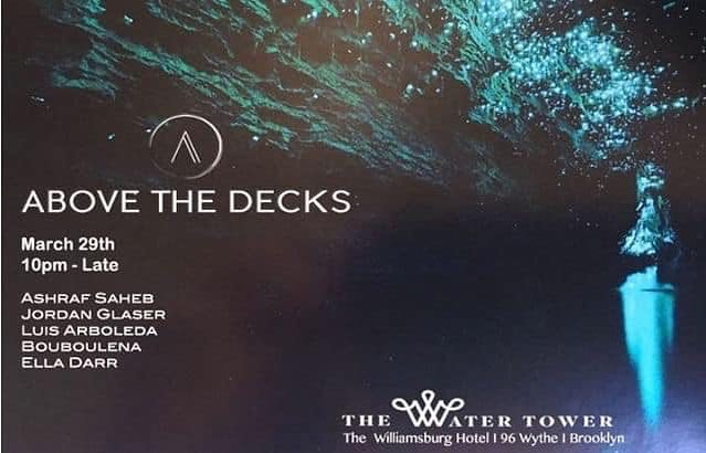See you guys on Friday for @abovethedecks ! I'll be closing , on at 2am 🤘🏻🤘🏻