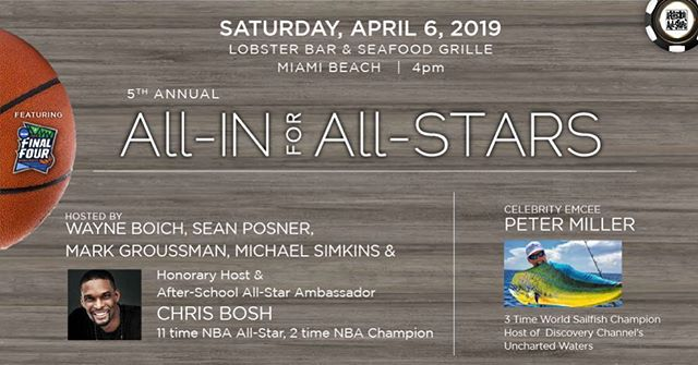I'll be doing a never been done before DJ Performance with notorious counterfeiter @arthurjwilliamsjr for the @afterschoolallstars charity event event in Miami this Saturday. There are a few poker spots left. There will be art and entertainment and proceeds going to a great cause. DM me for details ! Link in bio! See you there! 🏀