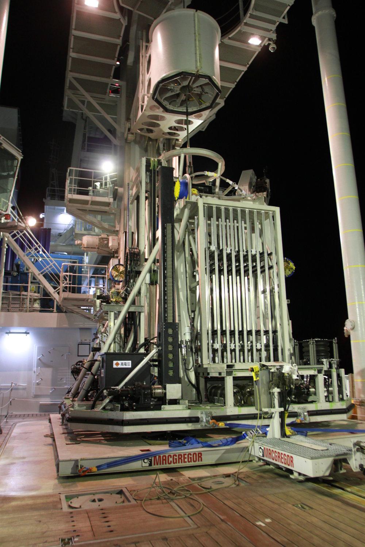 ABMS Wireline Seafloor Drill