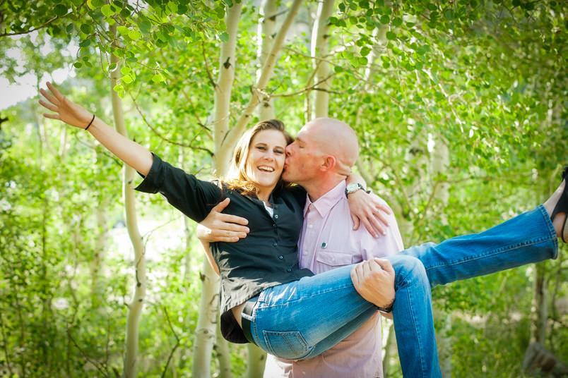 Happy Estes-Park-Engagement-Portraits