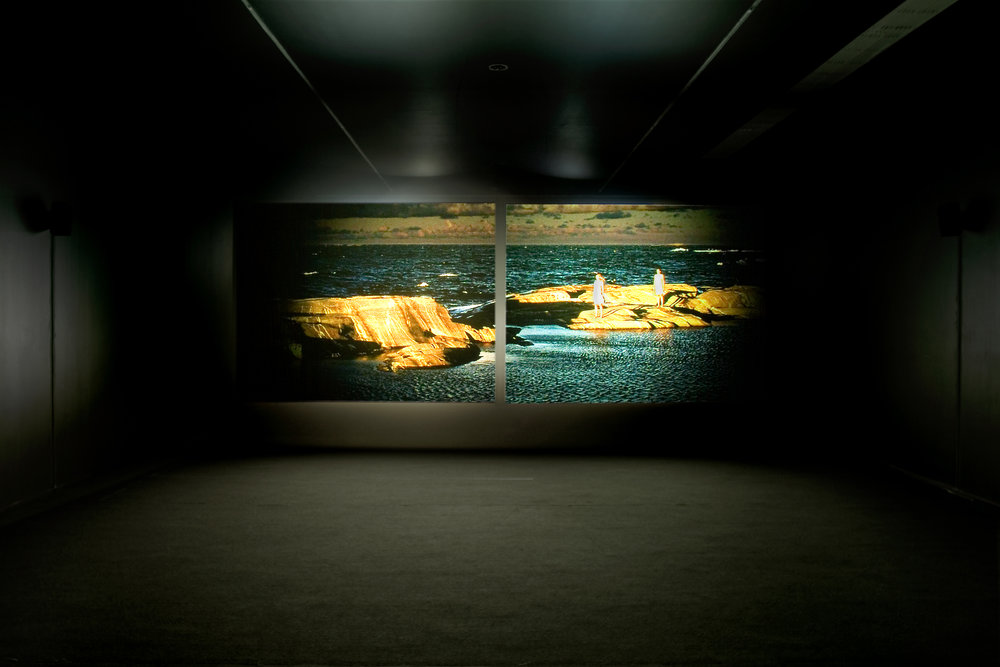 installation view:  Beyond the Picturesque , SMAK, Museum for Contempary Art, Ghent (BE), 2009 - Photo Dirk Pauwels