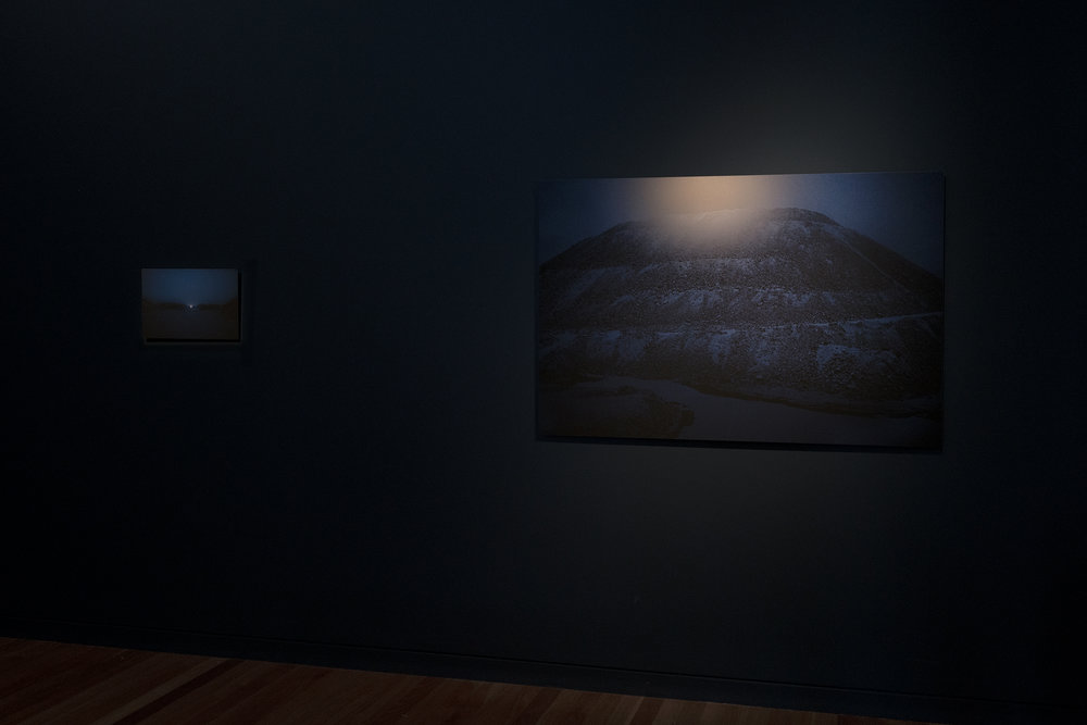 Installation view:  I.R.-N.E. [Sanctum] & Inverse Operations , Contour 556, Biennial of Public Art, Canberra (AU), 2018