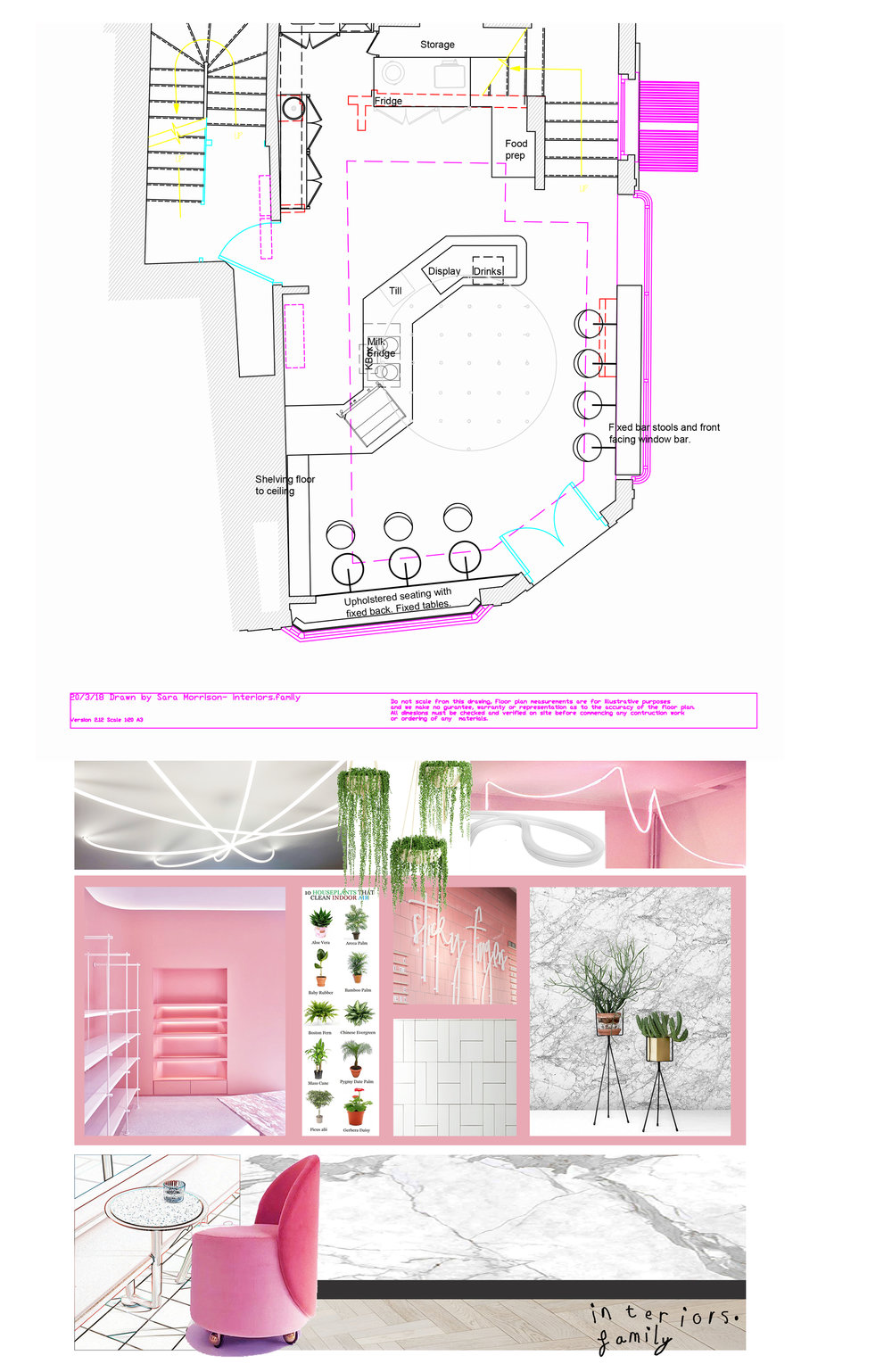 Good Day Cafe - Bath, layout and design. Click on the image to see more.