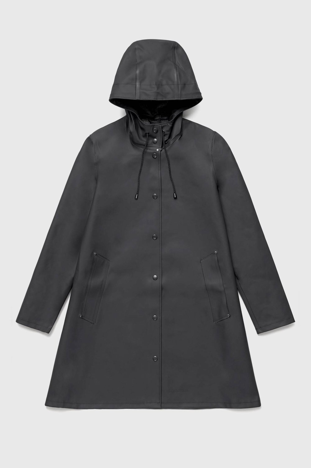 the silhouette polishes up Stutterheim's Mosebacke style