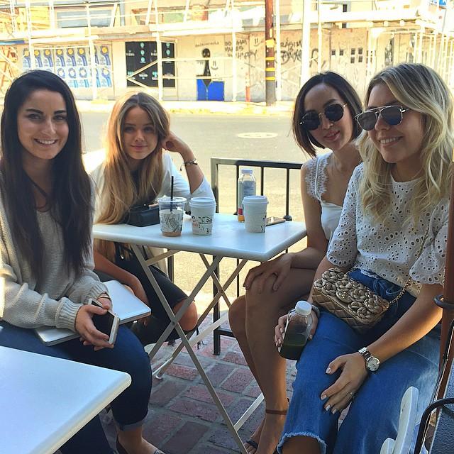 Mentor babes️ #blogging101 #geekingoutbloggerstyle @kristina_bazan @chrisellelim @fionazanetti