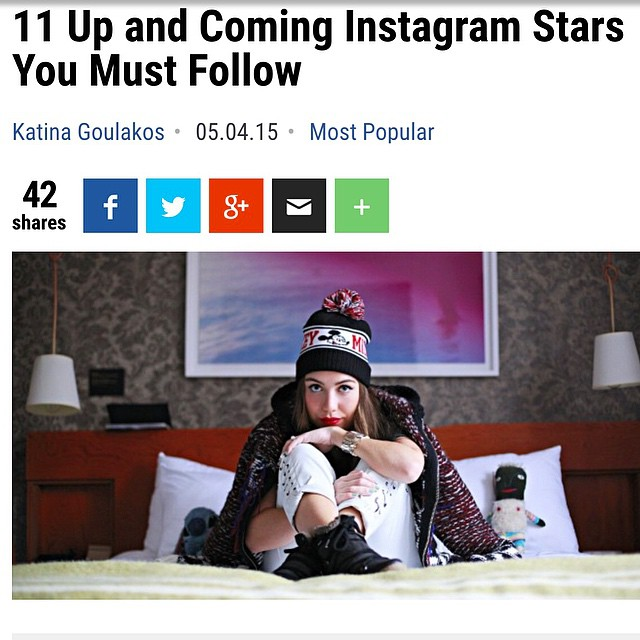 Thank you @therichest for featuring me as one of the 11 to follow on insta! I feel hella fackin' cool