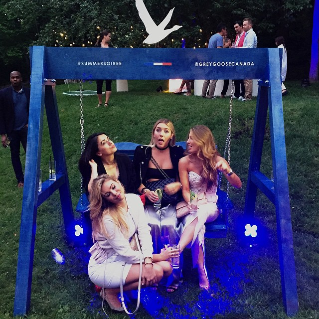 When you're in between pictures😛😗 #greygoose🐓 #summersoiree