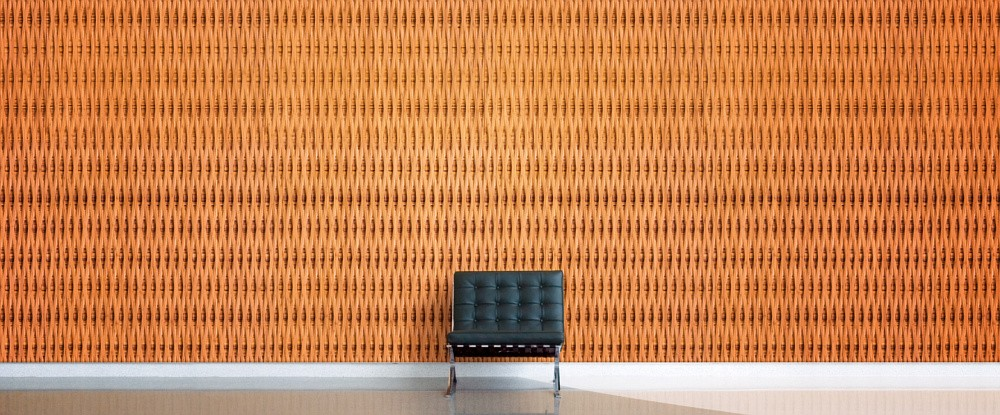 Plyboo Reveal Style C1 Bamboo Panel in Amber