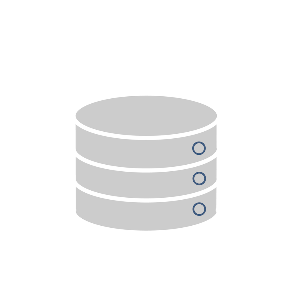 Data warehouse icon