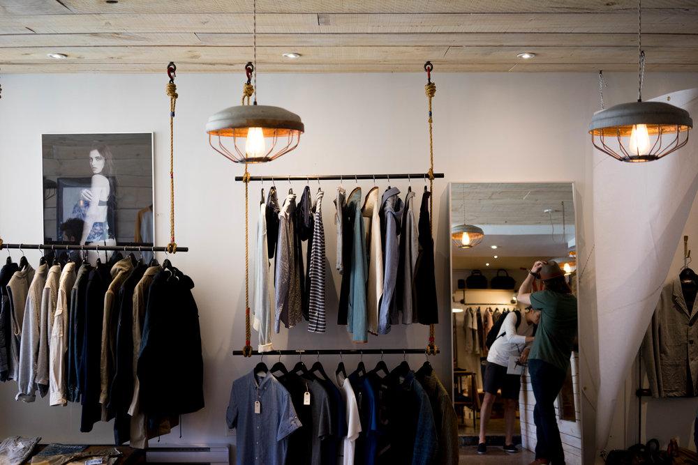 retail clothes shop