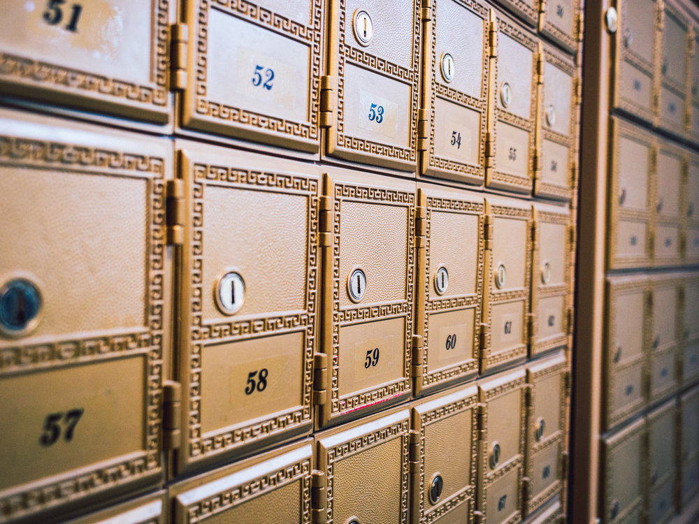 Mailbox Rental - We have personal mailboxes (PMBs) for rent. PMBs show your address without the