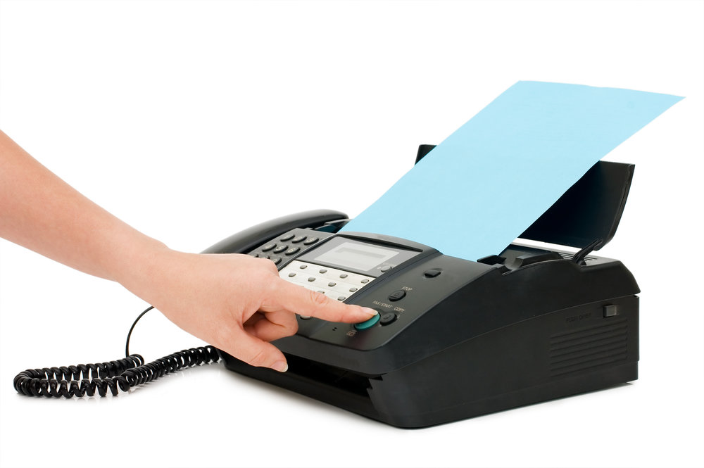 Faxing - We can fax your document anywhere in the United States