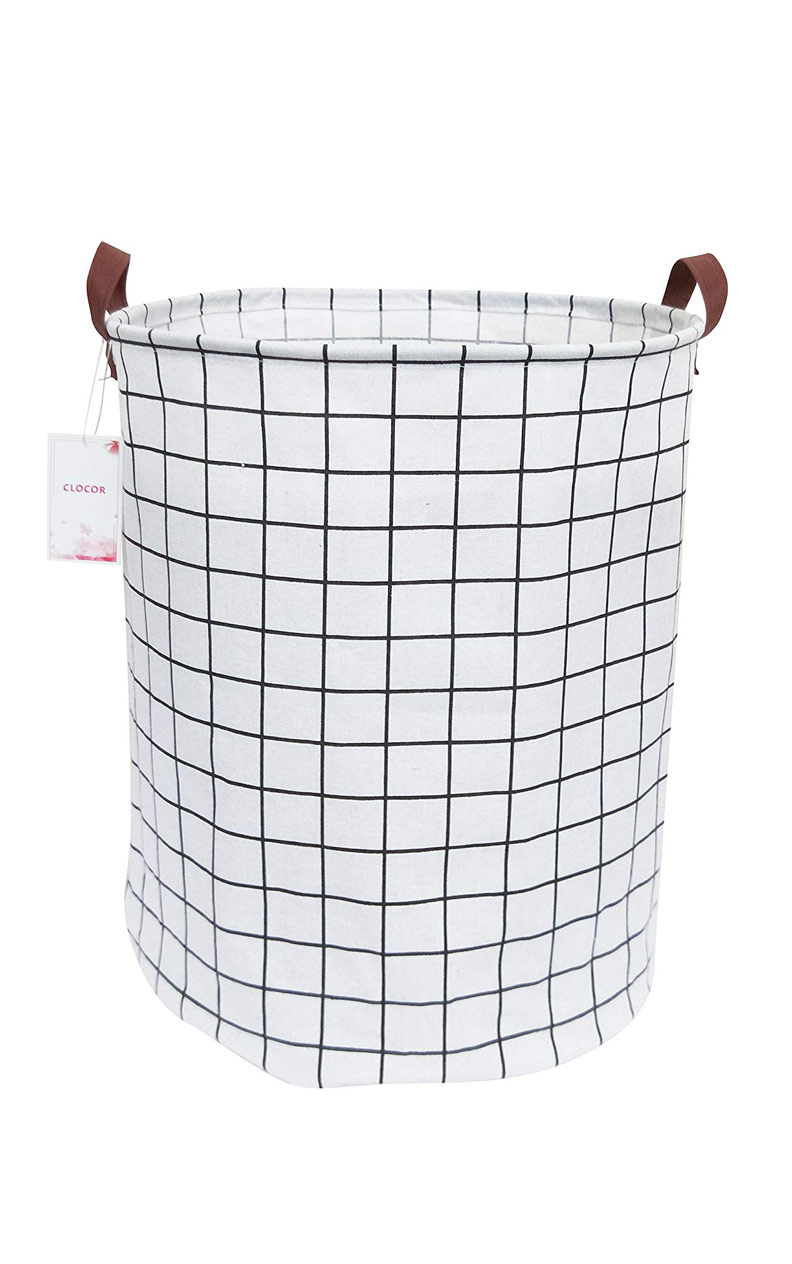 $13 - Collapsible Canvas Laundry Hamper | I have 1000 and they are perfect for laundry, blankets and kids shenanigans.