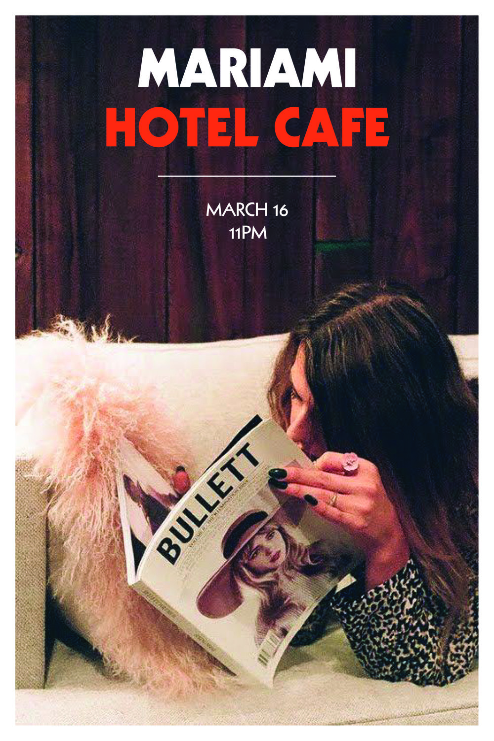 SEE MARIAMI LIVE AT HOTEL CAFE ON MARCH 16 - TIX HERE