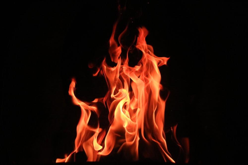 Stumbling onto Fire -