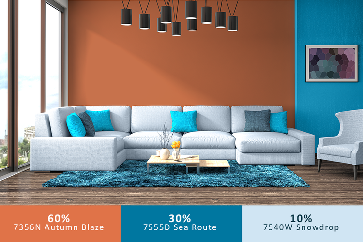Wall paints, furnitures, accesories.