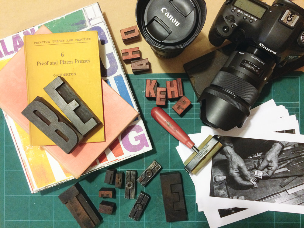 The tools of my trade — photography and design