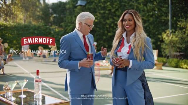 Smirnoff Vodka — Monica Tyson