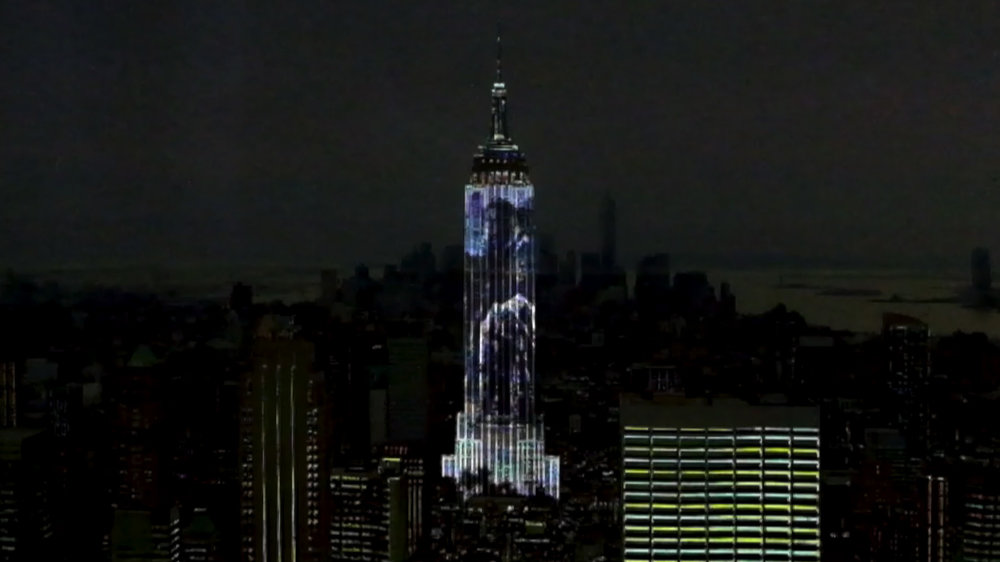 Shan Shui on theEmpire State Building - Prototype2016