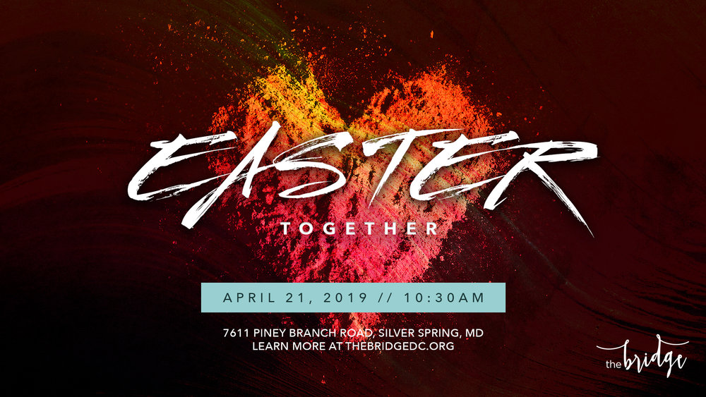 Use our Easter Together invite graphic to share with your friends and family!