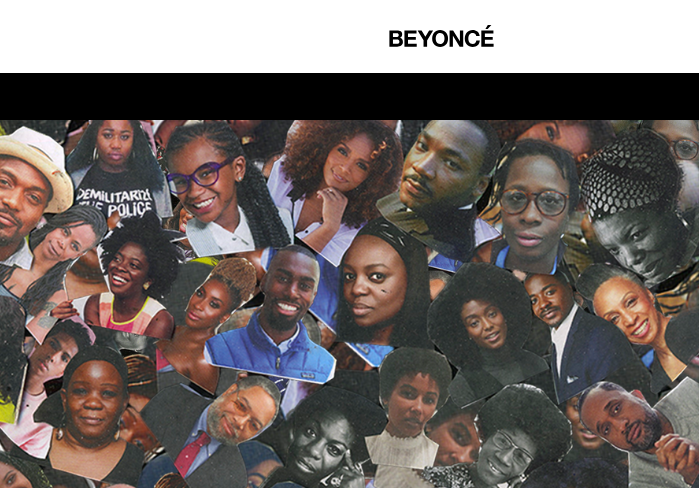Aurielle featured on beyonce.com -